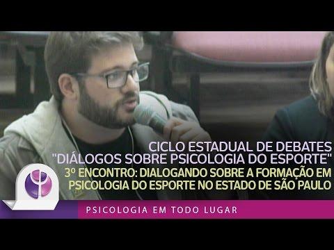 Dialogando sobre a formação em Psicologia do Esporte no estado de São Paulo