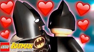 MULHER GATO BEIJOU O BATMAN - LEGO Batman The Videogame #6