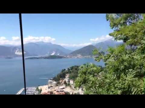 Il lago visto dalla Funivia di Laveno