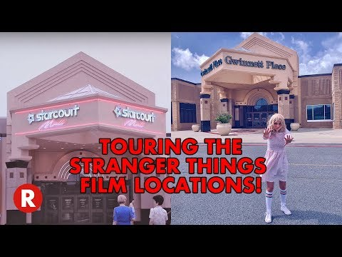 Stranger Things 3 Filming Locations Tour Dressed As Eleven!! // 11 Stranger Things Set Tour