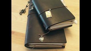 Flip Through My Midori Travelers Notebooks With Me!