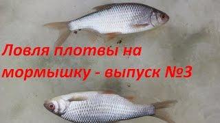 Рыбалка на чепце зимой