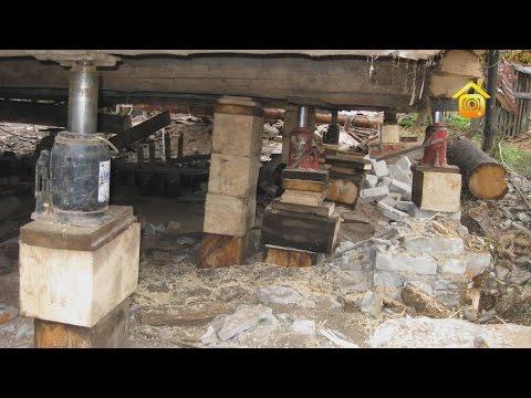 Реконструкция деревенского дома. Выравнивание. Личный опыт горожанки // FORUMHOUSE