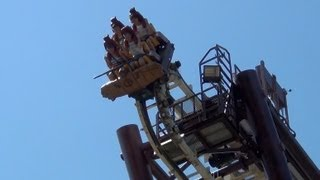 Sequoia Adventure Roller Coaster POV S&S Screamin' Squirrel Gardaland Italy