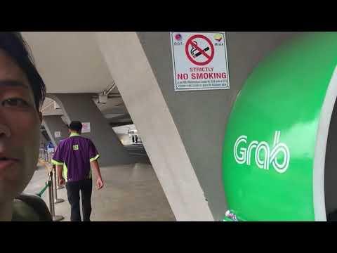 マニラ空港ターミナル1 Grabタクシー乗り場