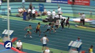 Liévin 2019 : Finale 60 m Cadets (Thierry Prempeh en 6''86)