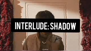 Interlude: shadow | Suga, BTS (easy lyrics)