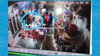 Menor suspeito de cometer assalto em mercado de Coremas (PB) é apreendido pela PM