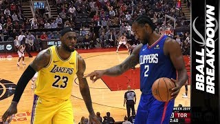 LeBron vs Kawhi In Battle For Los Angeles PLUS Raptors Hunt The Pelicans