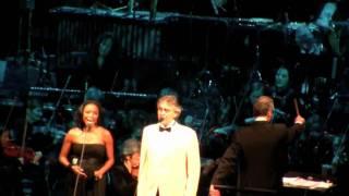 """Andrea Bocelli, Heather Headley """"Blue Christmas"""" - MSG My Christmas 12/2/10 HD"""