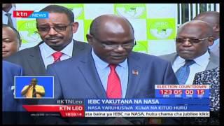 NASA yaruhusiwa kuwa na kituo mbadala cha kuhesabu kura na IEBC