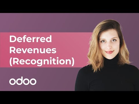 Deferred Revenues (Recognition) | Odoo Accounting