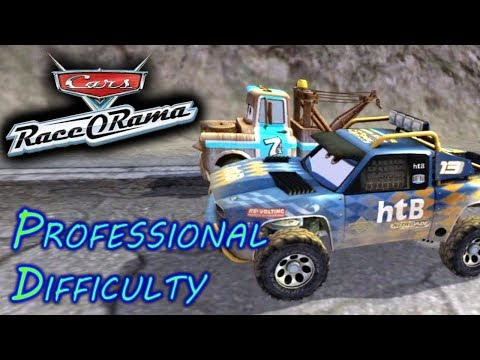 HD Cars Race O Rama EL Machismo Vs Radiator Springs Group Professional Difficulty Race