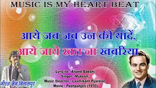 jane chale jate hai kahan karaoke with hindi lyrics   - YouTube