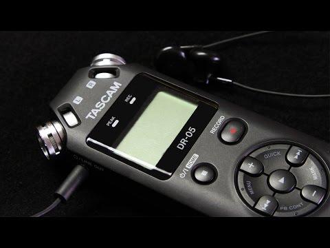 Registratore audio Tascam DR-05 II