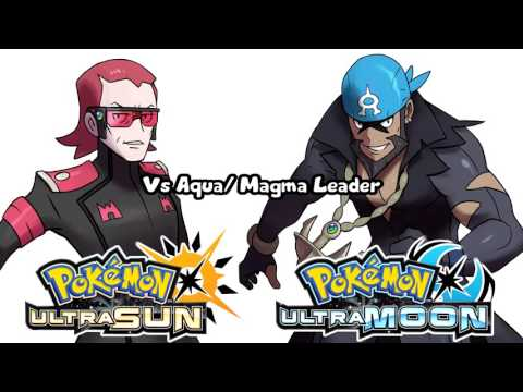 06410d46bd3ae Pokémon Ultra Sun   Ultra Moon - Team Magma   Aqua Leader Battle Theme  (Unofficial