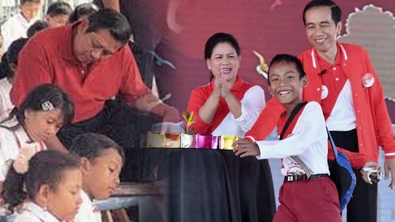 Viral Video! SBY dan Jokowi Dibandingkan: Tegur Anak Tidur Vs Sulap