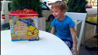 Шипучка Angri Birds и игровой набор Риша катает Щенячий Патруль на паровозике Toys for kids