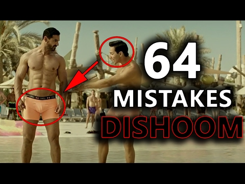 64 MISTAKES IN DISHOOM EVERYONE MISSED (Eng subs) | DISHOOM MISTAKES | BOLLYWOOD LOGIC