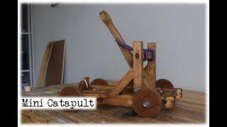 Mini Catapult || DIY