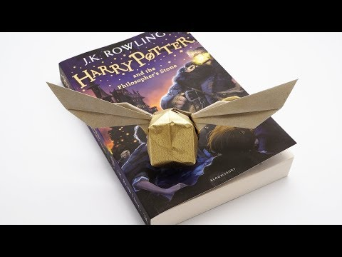 HARRY POTTER'S GOLDEN SNITCH ORIGAMI (Jo Nakashima)