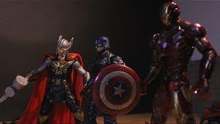 Avengers: Infinity War   Part 3 (Stop Motion Film)