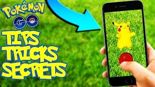 10 POKEMON GO TIPS, TRICKS, & SECRETS YOU DIDN'T KNOW!