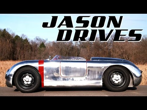 What It's Like To Drive The Most Beautiful Homemade Car On Earth | Jason Drives