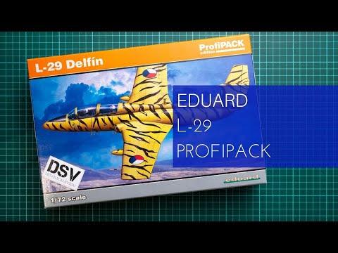 Eduard Plastic Kits 7096-1:72 L-29 Delfin Neu Profipack