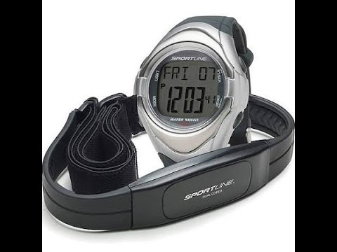 SB1970SK Sportline Elite Duo 560 Dual Use Heart Rate Monitor Watch Manual Scan