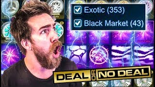 Exotic & Black Market Only W/ INSANE Power-ups! (Blind Trading)