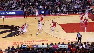 1st Quarter, One Box Video: Toronto Raptors vs. Phoenix Suns