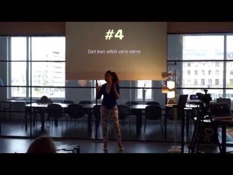 Bella Malekian, VD på Malmö Dansakademi, föreläser på