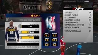10% to 91 Overall!!!!!  SEMI-DUDU TWO WAY SHARP GRIND  NBA 2K19 MYCAREER MODE