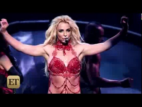 Britney Spears Red Hot Opening Billboard Music Awards 2016  ET Online