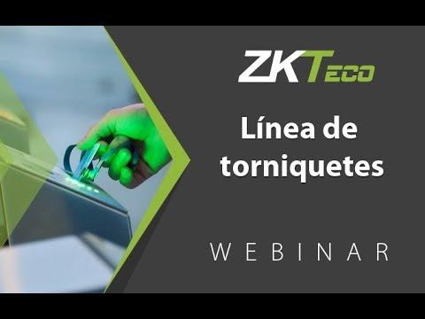 Webinar: Presentación Torniquetes ZKTeco (14 Jul 2015)