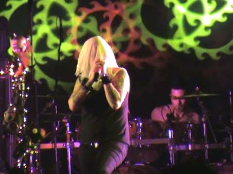 """Otep playing """"my confession"""" at woodshock 13  8-14-09"""
