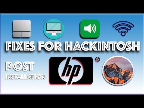 How To install hackintosh/macintosh/mac on hp laptops/pc (specially hp  laptops - post installation) - Музыка для Машины