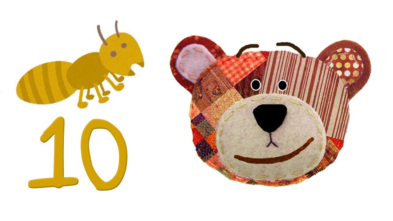 Números del 1 al 10 en español para niños