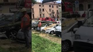 Nubifragio a Verona