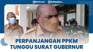 Soal Perpanjangan PPKM di Papua Barat, Wagub Sebut Tunggu Surat Gubernur Lagi dalam Proses