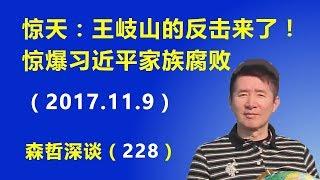 惊天:王岐山的反击来了!惊爆习近平家族腐败问题(2017.11.9)