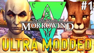 ULTRA MODDED MORROWIND - 300 Mods - Qa' Dojetta The Khajiit - 1