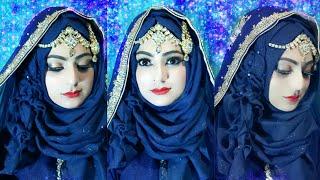 Most Requested Bridal Hijab Modern Style Islamic Wear /islamic Fashion 2018