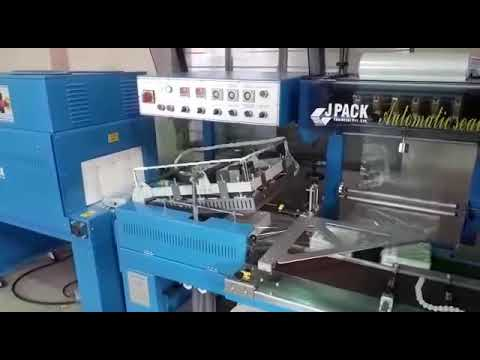Auto L Bar Sealer With Shrink Tunnel Machine