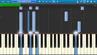 Tutorial Adeste Fideles - Piano Synthesia [Cover By Videocodaficionado] - [Nikita] [HD]