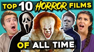 College Kids React To Top 10 Highest Grossing Horror Movies Of All Time