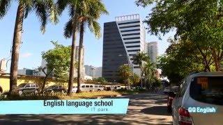 QQ English ITパーク セブの中心地ITパークや学校の雰囲気