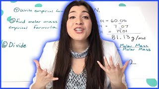 Calculating Molecular Formulas Step By Step | How To Pass Chemistry