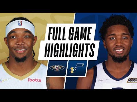Utah Jazz vs New Orleans Pelicans</a> 2021-10-12